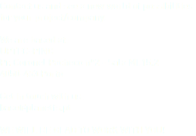 Contact us and see a new world of possibilities for your project/company. We are based at: UPTEC-PINC Pr. Coronel Pacheco nº2 - Sala MI.15.2 4050-453 Porto Get in touch with us: base@planetfs.pt WE WILL BE GLAD TO WORK WITH YOU!
